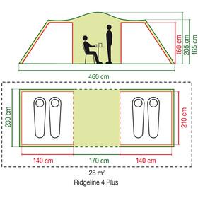 Coleman Ridgeline 4 Plus Teltta